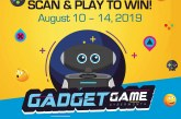 Shoot and win prizes #GadgetGameAtSM in select SM malls nationwide