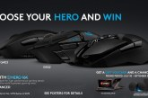 Join Logitech G's Choose Your Hero Promo