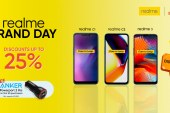 Realme holds biggest flash sale to date at Shopee Brand Day