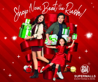 SM Supermall 100 Days Christmas Campaign Box Ad