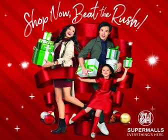 SM Supermall 100 Days Christmas Campaign Box Ad