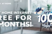 Free 3 months Home Internet for Globe Postpaid Mobile Customers