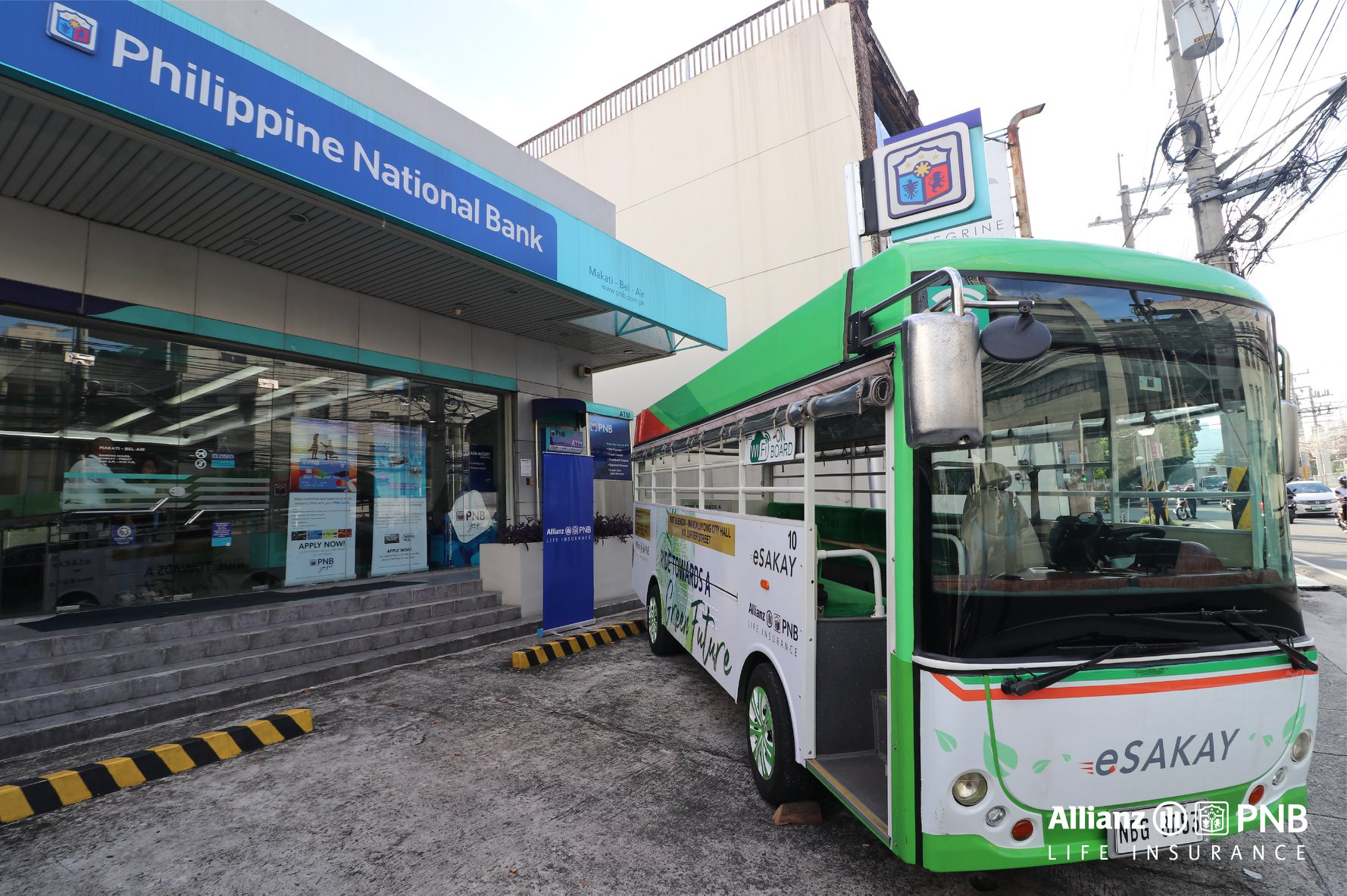 Allianz PNB Life Partners with eSakay promotes  Environmentally-Sustainable Way to Commute