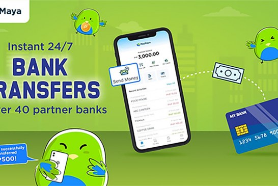 You can now instantly transfer funds to more than 40 banks with your PayMaya account
