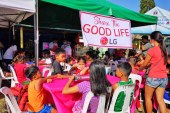 LG Philippines Shares the Good Life to the Affected Taal Batangas Community