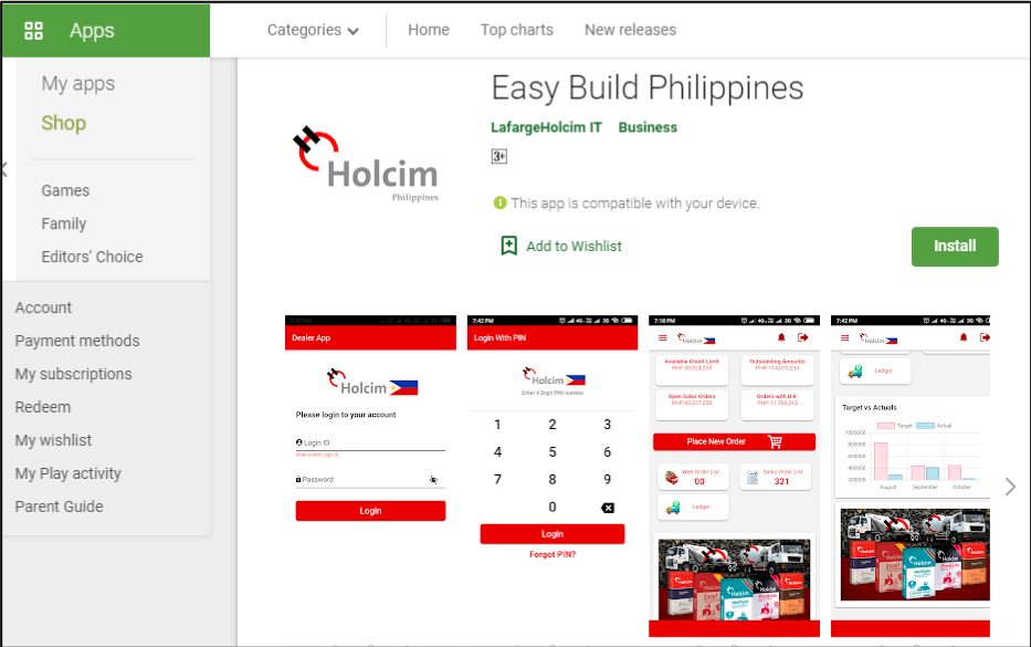 Holcim improves customer service with Easybuild, expands reach through digital innovations