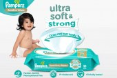 NEW Pampers Sensitive Wipes make cleaning poo a breeze for parents