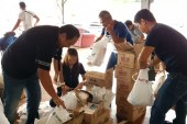 PLDT, Smart employees share blessings with Davao quake victims