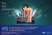 Visa and Ayala Malls Cinemas Announce Contactless Acceptance in the Philippines