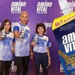 Ajinomoto's aminoVITAL helps Filipino athletes to stay active, fit and healthy