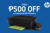 Get instant P500 savings when you buy HP Ink Tank printers