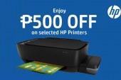 Get instant P500 savings when you buy HP Ink Tank printers