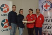 Chevron donates to Red Cross for Taal victims