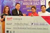 Hidilyn Diaz for 8990 Holdings Inc.
