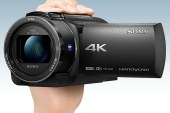Pre-order the Sony 4K Handycam FDR-AX43 to avail Free Remote Control Tripod, 64GB SD Card and Camera Bag