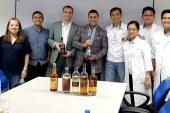 Golden State Warriors Execs visits Tanduay Cabuyao Plant