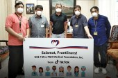 TikTok donates $1-Million aide to benefit PH doctors and medical workers