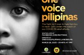 Donate to One Voice Pilipinas second concert on March 28