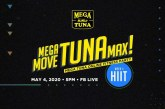 Get a healthy lifestyle at home with Mega Tuna's live online workouts!