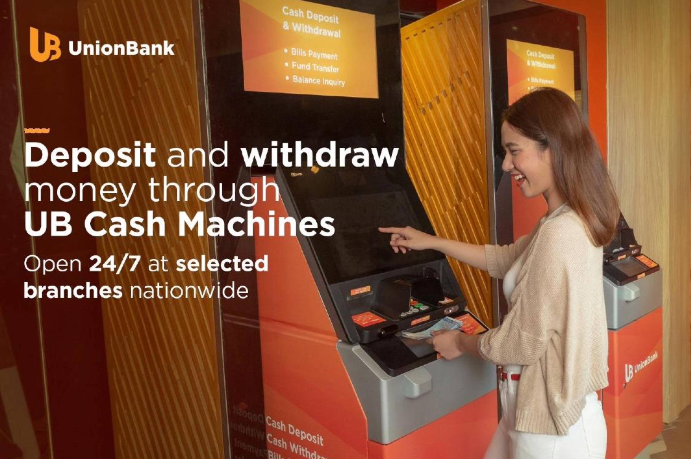 LIST: Unionbank Bank branches with check deposit machines available during quarantine