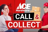 Ace Hardware customers can avail hardware items via  Call and Collect service