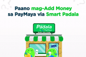 Your neighborhood Smart Padala agent is the easiest way to add money to your PayMaya account