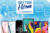 "Stay connected and productive Samsung's ""Better at Home"" promo"