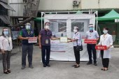 SCG  Philippines donates negative pressure mobile isolation units to public hospitals