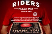 Pizza Hut gives free pizza to delivery riders on June 30 celebrating Rider's Pizza Day