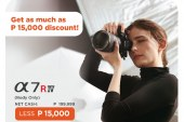 Sony Content Creation essentials promo offers savings up to PHP15,000