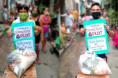 PLDT partners PBSP provided food packs and vitamins to affected COVID-19 families in Malabon and Cebu