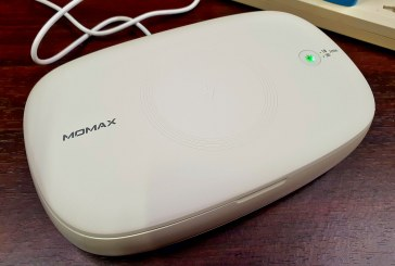 Review: Momax Q.Power UV Box Sanitizer with Wireless Charging