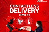 J&T Express offers contactless delivery to keeps business and customers safe from the virus