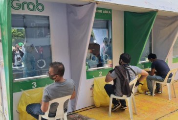 Grab, National Taskforce on COVID, BCDA launches COVID-19 testing site for driver and delivery partners in Metro Manila