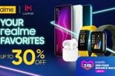 realme offers up to 41% in discounts at the Lazada Midyear Sale event on July 15