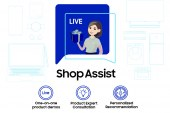 Samsung Live Shop Assist service offers online product demonstrations via live streaming
