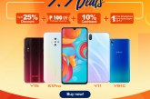 Shopee 7.7 sale offers free nationwide delivery on discounted vivo smartphones