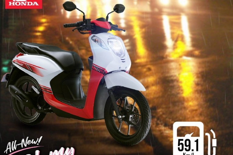 Honda shares safety tips for riding a motorcycle in the rain