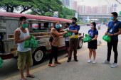 24,000 Kalinga Packs for Jeepney, Tricycle, and UV Express Drivers donated by SM Foundation
