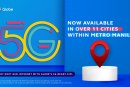 Find out if your location is 5G ready with Globe