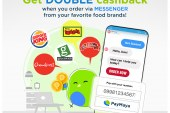 PayMaya and Jollibee Foods Corporation double up your rewards when you order via Facebook Messenger