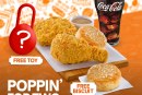 Get a free Honey Biscuit and toy with new Popeyes poppin' promo