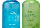 Keep skin fresh and glowing  with Ever Organics Ice Jeju Aloe Face Mist