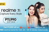 realme PH elevates style with Donnalyn Bartolome using the realme 7i