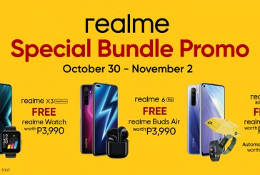 Kickstart holiday shopping with realme's Special Bundle promos
