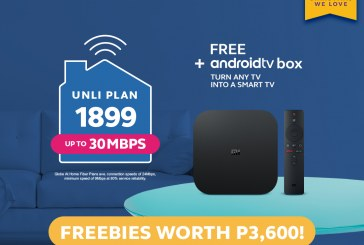 Get Fast, UNLI Internet with Free Devices With Globe At Home