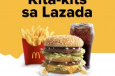 McDonald's food and merch now available in LazMall!