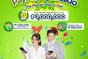 Win 1-Million pesos and help micro entrepreneurs with PayMayaguinaldo Christmas Campaign