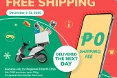 Shop via SM Malls Online mobile app and get free shipping this December!