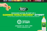 Start the New Year Strong by Setting a New GUINNESS WORLD RECORDS™ title with Datu Puti!